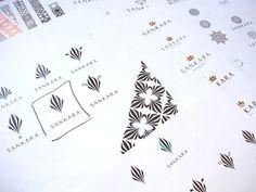 Zebra-inspired | Logo Design Love #logo #sankara #glazer #process