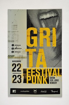 GRITA festival | Graphic system