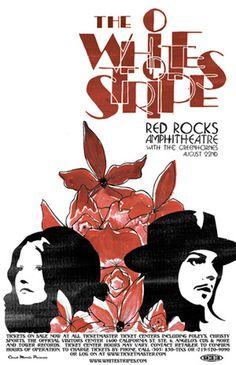 The White Stripes - Gig Poster