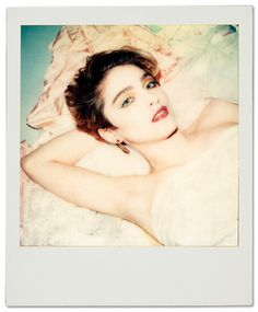 Maripola X book of polaroid by Maripol Available on llapnyc.com/buy #polaroid #art #madonna #photo #book #graphicdesign