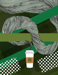 Starbucks Illustration #illustration #design #graphic