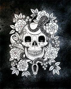FFFFOUND! | supersonic electronic #illustration #skull