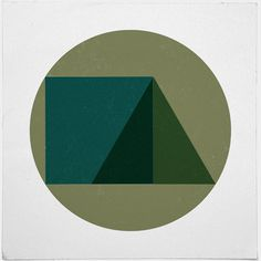 #249 Triad – A new minimal geometric composition each day