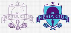 Logo for Fiesta Club by Acopiodg #plata #del #club #fiesta #acopiodg #music #logo #mar #party