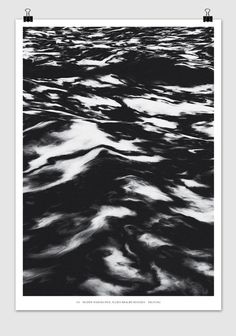 Muddy Waters - Timo Lenzen - Graphic Design #pattern #white #black #poster #and