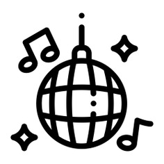 See more icon inspiration related to disco, club, birthday and party, love and romance, mirror ball, disco ball, dance and party on Flaticon.