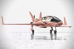 Cobalt Valkyrie-X - A rose-gold plane, for the classy supervillian in your life. Price ? A cool $1.5 million. #Cobalt #ValkyrieX #RoseGold