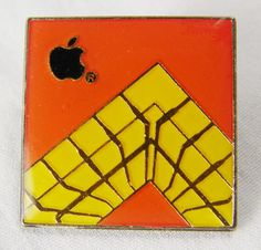 Vintage Apple Pin