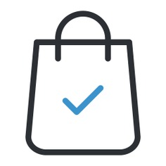 See more icon inspiration related to bag, supermarket, shopper, shopping bag, shopping, commerce, business and commerce and shopping on Flaticon.