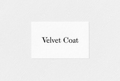Picture of 8 designed by Kiku Obata & Company for the project Velvet Coat. Published on the Visual Journal in date 2 August 2017