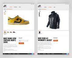 Nike Sportswear - Work - Instrument #store #nike #web