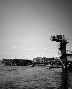#geneva #Black&White / Picture : Ruffieux Pablo