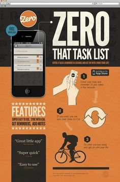 Zero – iPhone App design | Mike Kus #website #mike #kus