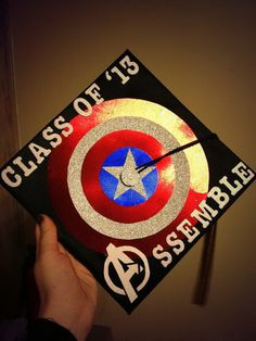 Awesome Graduation Cap Decoration Ideas #decor #school #student #graduate