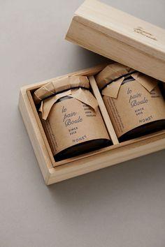 le pain boule / HONEY : brand logo & package design