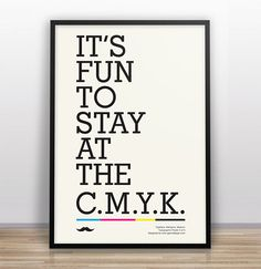 garyndesign_typejokes5 #quote #design #poster #type #framed