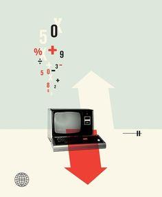HUE + SATURATION #illustration #retro #cristiana couceiro #computers