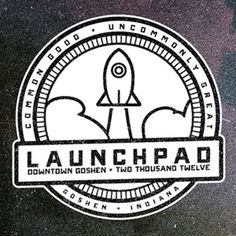 Saos the launchpad branding revision 04 b and w