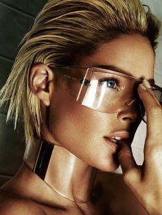 Doutzen Kroes by Mario Testino for Vogue Brazil