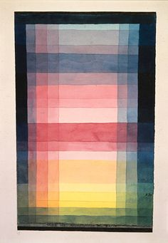 #line #DesignHistory || Paul Klee, Architecture of the plane / Architektur der Ebene, 1923.