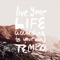 Live your life #lettering #hand #brush #typography