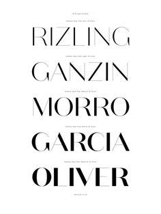 Domaine Sans Typeface Family | Australian Design Biennale #cv