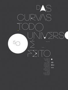DHNN | Brasilia 50 anniversary #dhnn #brasilia #invite #typography
