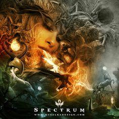 Spectrum #design #photomanipulation #digital #illustration #art #character