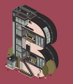 Animated Architectural Letterforms_4