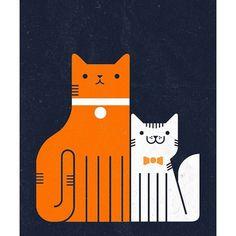 Eight Hour Day » Blog » Richard Perez #illustration #cat #richard perez