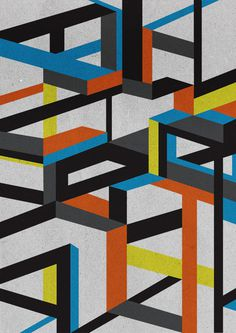 Geometric versions #imek1 #versions #geometry #design #geometric #blaqk #posters #symmetry #greece #patterns #simek #athens
