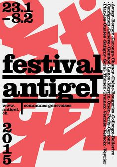 Festival Antigel 2015