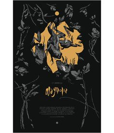 Magnolia Movie Poster by Joao Ruas #ruas #silkscreen #print #joao #illustration #poster