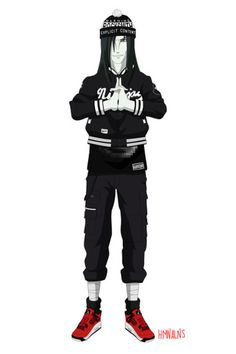 Naruto Gets the Rocksmith Treatment via Human Aliens | Hypebeast #fashion #naruto #anime