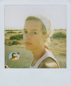 Sin título | Flickr: Intercambio de fotos #aijon #polaroid #mirror #portrait #summer #reflection #bike #jorge #formentera