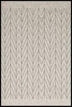 SUZANNE CLEO ANTONELLI #herringbone #chevron #pattern #geometric