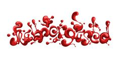 Flabbergasted #erdokozi #flow #red #flabbergasted #erik #type #splash #organic