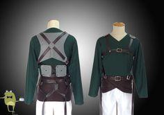 Attack on Titan Reiner Braun Survey Corps Cosplay Costume #corps #costume #survey