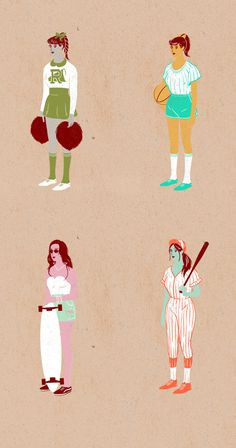 Clothing Hang Tags on Behance Lola Beltran #longboard #girl #school #vintage #baseball #cheerleader #high #basketball
