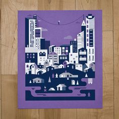 art prints : bandito design co. #screen #illustration #print #poster