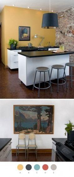 Design*Sponge #lamp #kitchen #interiors