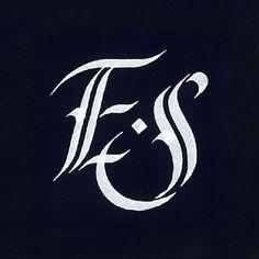 My new personal monogram. www.instagram.com/eni_saurus