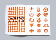David Bowie is Book Design #design #david #book #bowie