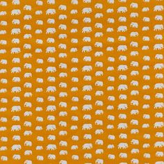 TA10057_GUL_1.jpg (742×742) #swedish #yellow #pattern #elephant #scandinavian #textile #estrid ericson