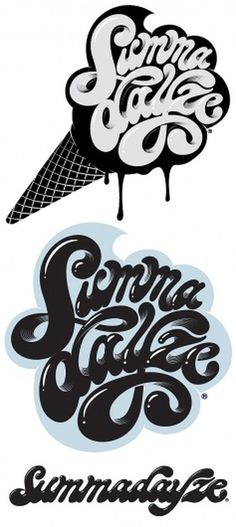 Summadayze ID on the Behance Network #illustration #typography #lettering