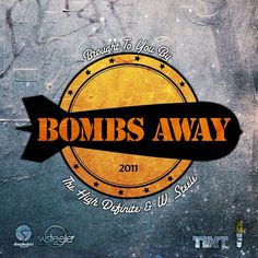 Bombs Away Cover Artwork on the Behance Network #cover #illustrator #mixtape #typography