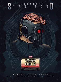 Guardians of the Galaxy Poster – Created by Oliver Merza