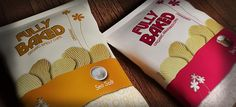 Fully Baked Chips on the Behance Network #fully #print #design #chips #healthy #baked #package