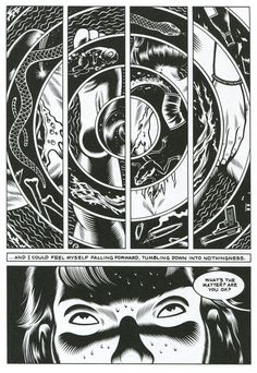 Excerpt from Black Hole by Charles Burns #charles #hole #black #burns