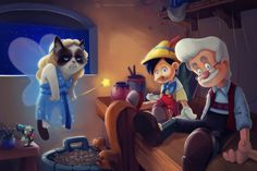 CJWHO ™ (Grumpy Disney by Eric Proctor This series...)